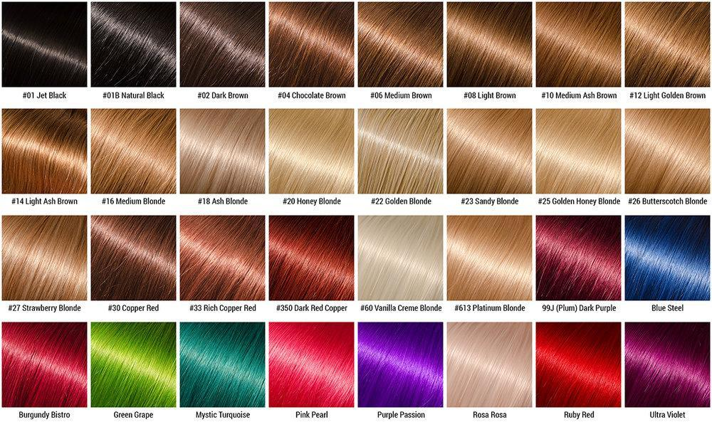What colour hair do you want?