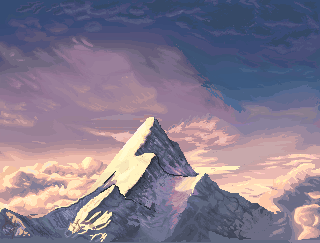 What is the name of the film company with the logo of a mountain?