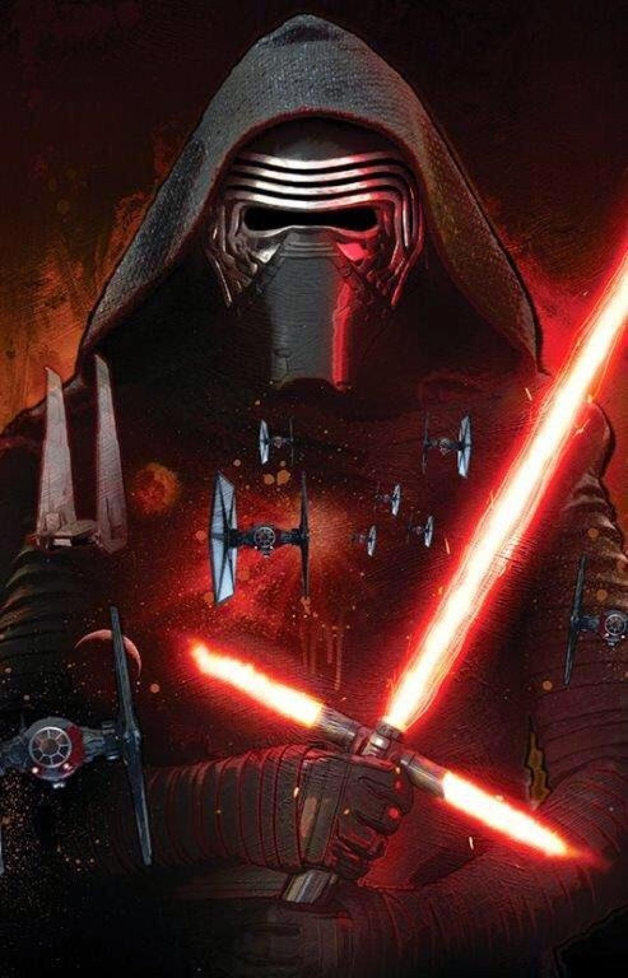 What is the name of Kylo Ren before he turned to the dark side? (first and last name!)