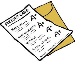 Report cards come in and you are