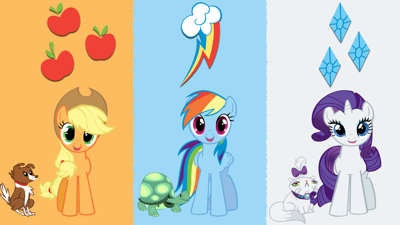 Which one of this ponies do you like best?