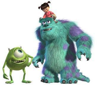 "What was the little girl's nickname in ""Monster Inc.""?"