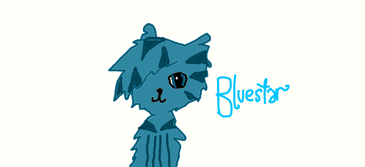 What is Bluestar's warrior name?