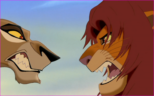 You see zira being exiled, what do you do?