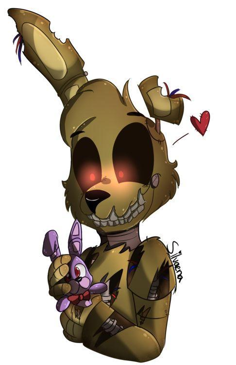 2 am Your camera stops glitching. Though you notice Springtrap has vanished, you immediately check all the cameras but not one of the rooms shows where he could be. You then check the vents and there he is, on the right side of the vent on his way to pay you a visit. What do you do?
