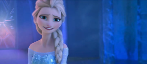 What is Queen Elsa's heart? Hard.