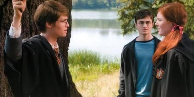 How old is James Potter in this image?