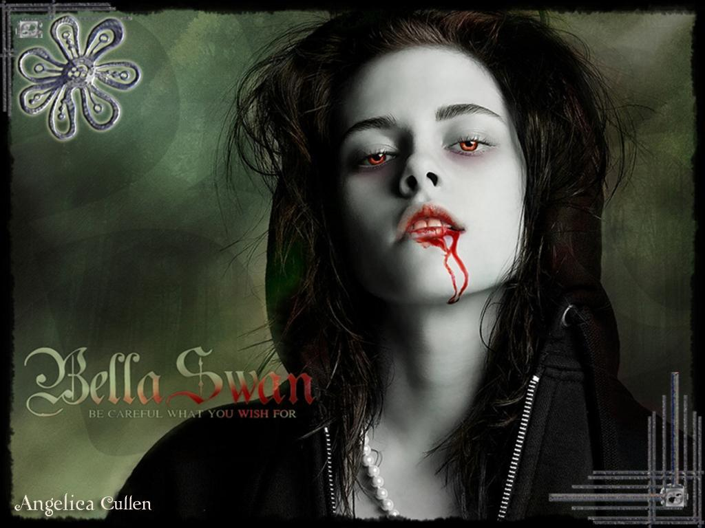 What was Bella's first prey after becoming a vampire ?