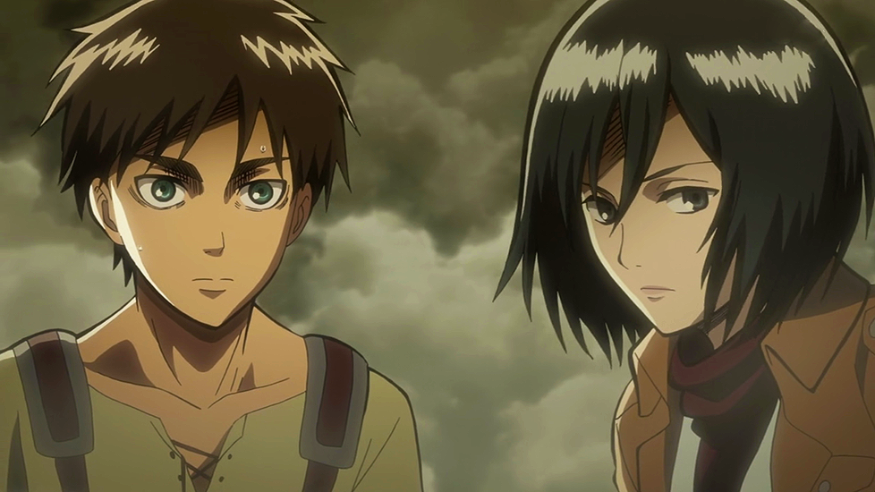 Another esay question, how is he related to Mikasa?