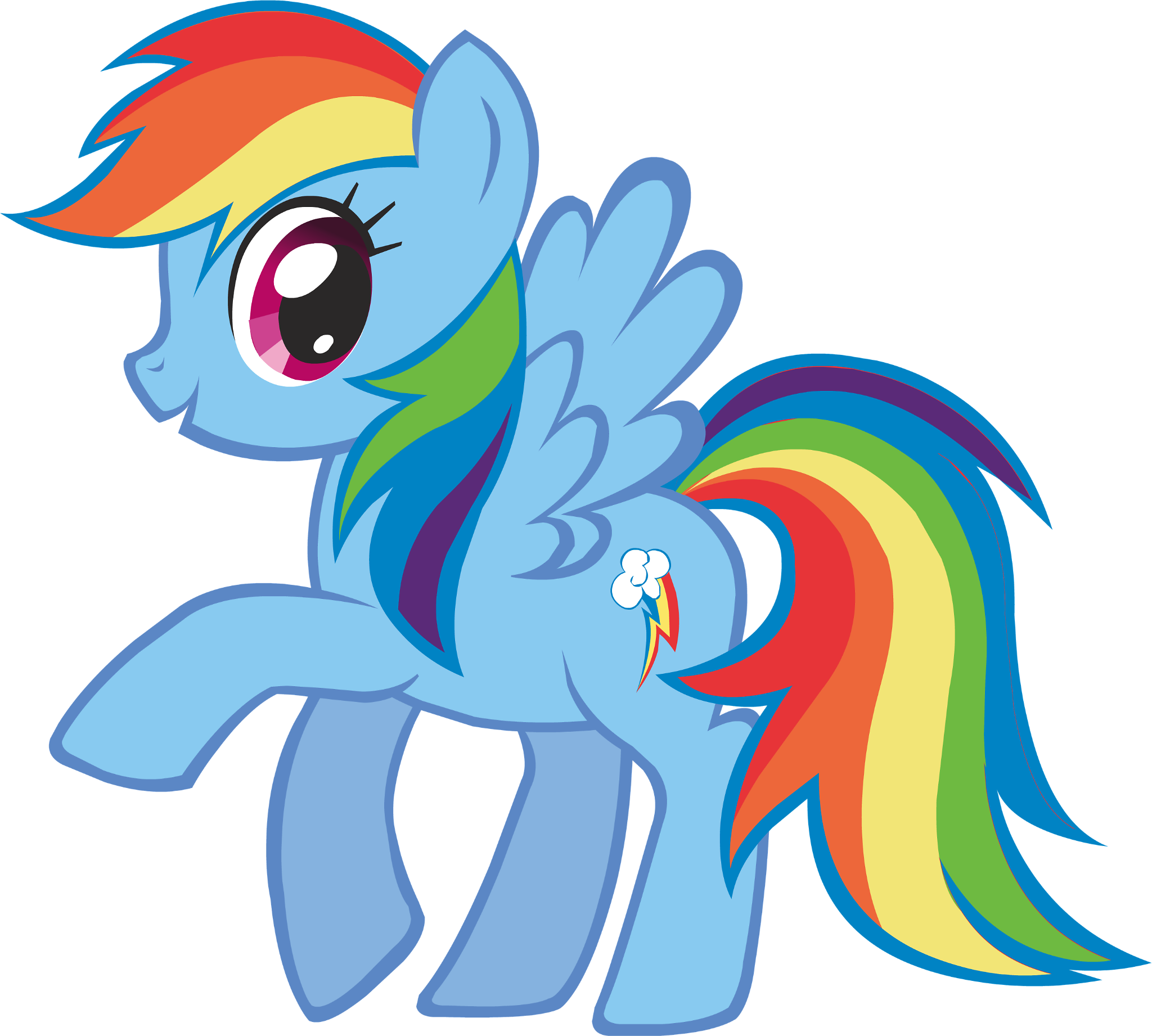 What is Rainbow dash's element of harmony?