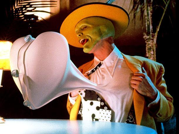 "Who did the girl co-star with Jim Carrey in ""The Mask""?"