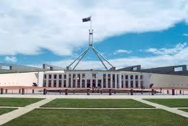 What colour is the Senate and The House of Representatives?