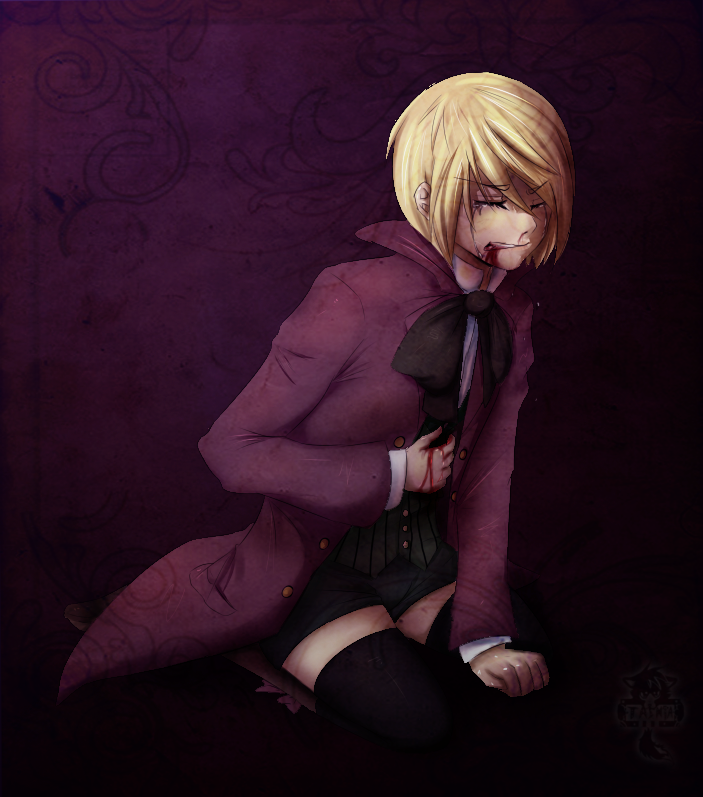 Ne: OK, now, if you had to kill youself to save Alois life, would you do it? Alois: What type of question is that?!