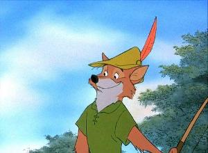 What color does Robin Hood wear?