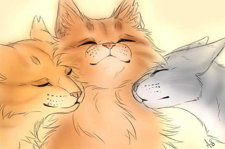 Who is NOT related to lionblaze