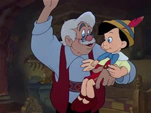 What was the name of the wood-carver who created Pinocchio in the movie?