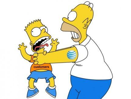What does Homer do to Bart?