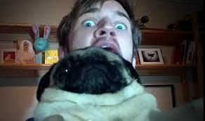 what is pewdiepie's dog's name?