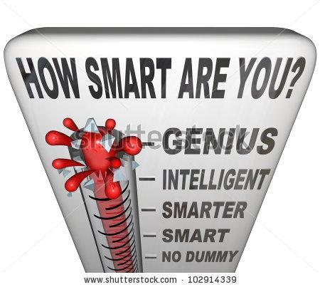 Do you think you are smart?