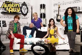 Where does Ally work in Austin and Ally?