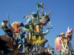 Does the Las Fallas festival have fireworks?