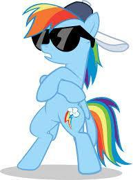 what is rainbow dash known for?
