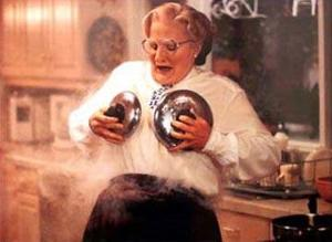 In Mrs. Doubtfire, what's the first name of Daniel Hillard's fake personality, Mrs. Doubtfire?