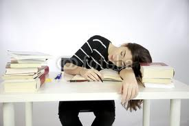 You accidentally fell asleep while studying, the night before a huge test. You...