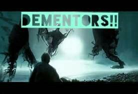 You come across a dementor down your street. What do you do?