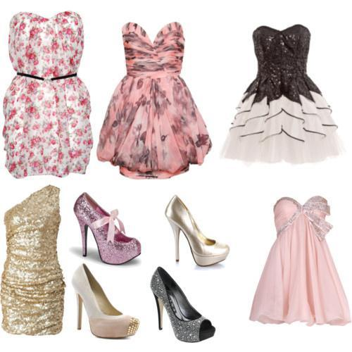 If You Were Invited To a Prom Party, What Footwear Would You Wear? Remember That Its a Fancy Party!