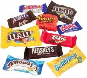 If you were a candy bar, which one do you think you'd be?