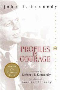 "What was the subject of Kennedy's Pulitzer Prize-winning book, ""Profiles in Courage""?"