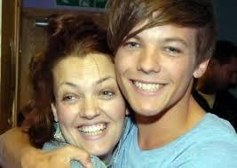 What is Louis' mom's name?