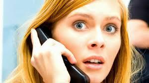 You get a mysterious phone call while home alone that is not from anyone you know. What do you do?