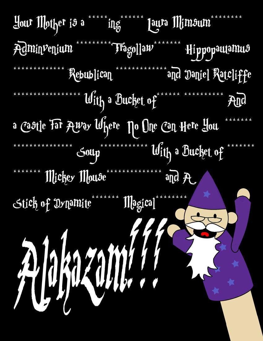 What is your favorite wizard swear?