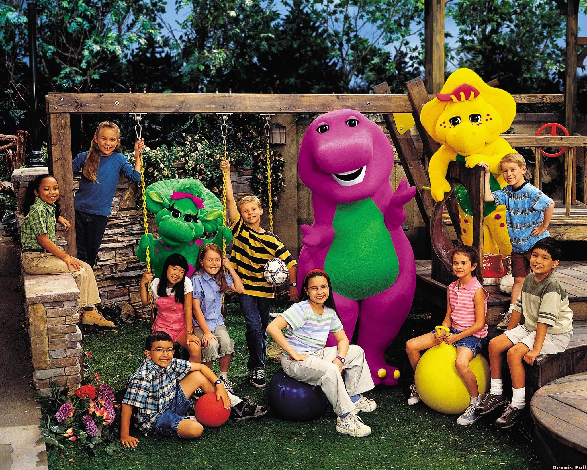 In Barney And Friends, what was Selena Gomez's charecter's name?