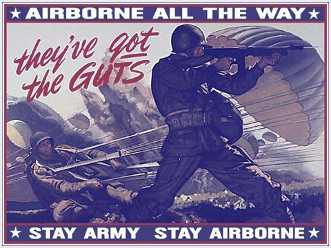 Which of these Airborne divisions served in the Pacific?