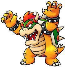 How many spikes does bowser  have on his shell (bowser from Mario)