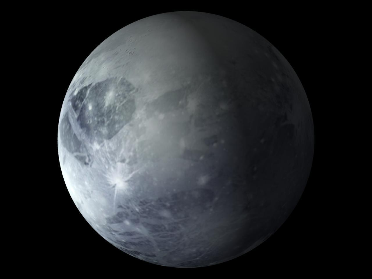 What does Pluto revolve around in the solar system (apart from the sun)?