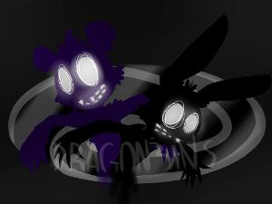 What are the two Shadow animatronics names?