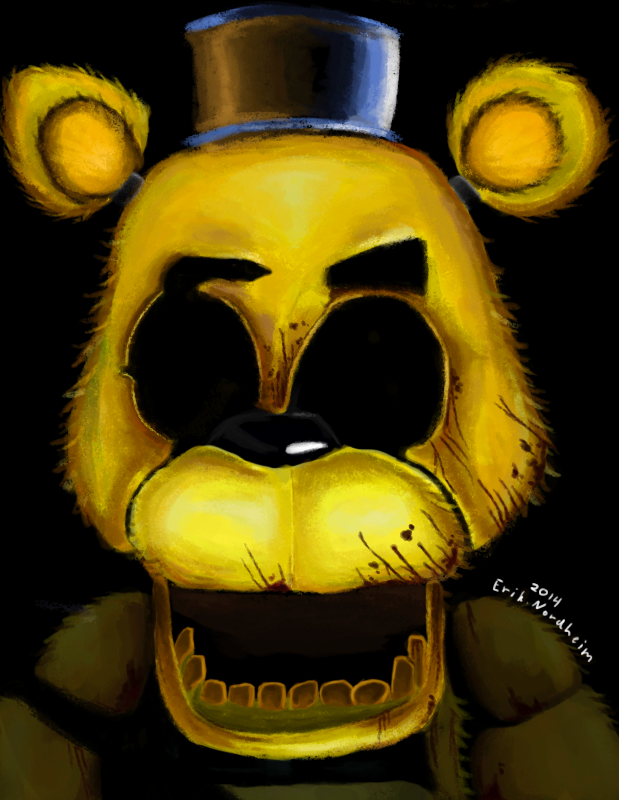 (golden freddy):so what do you do in your spear time?