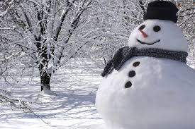 "Finish this phrase from the Christmas carol ""Let it Snow"" : It doesn't show signs of stopping..."
