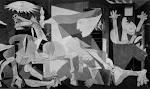 What is the name of the artist of the famous GUERNICA?