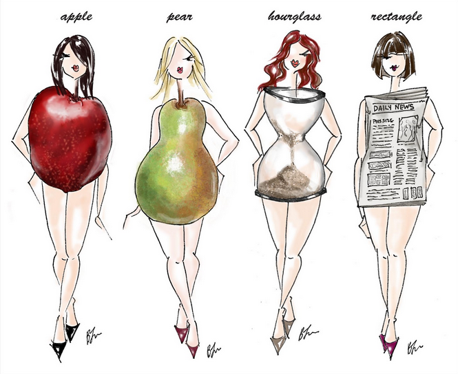 What body shape best describes you right now?