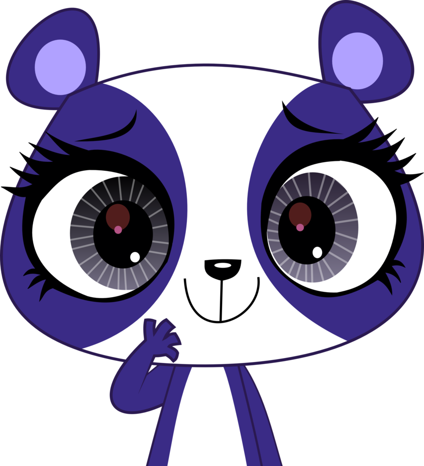 What is the name of the cute panda that likes to dance ballet?