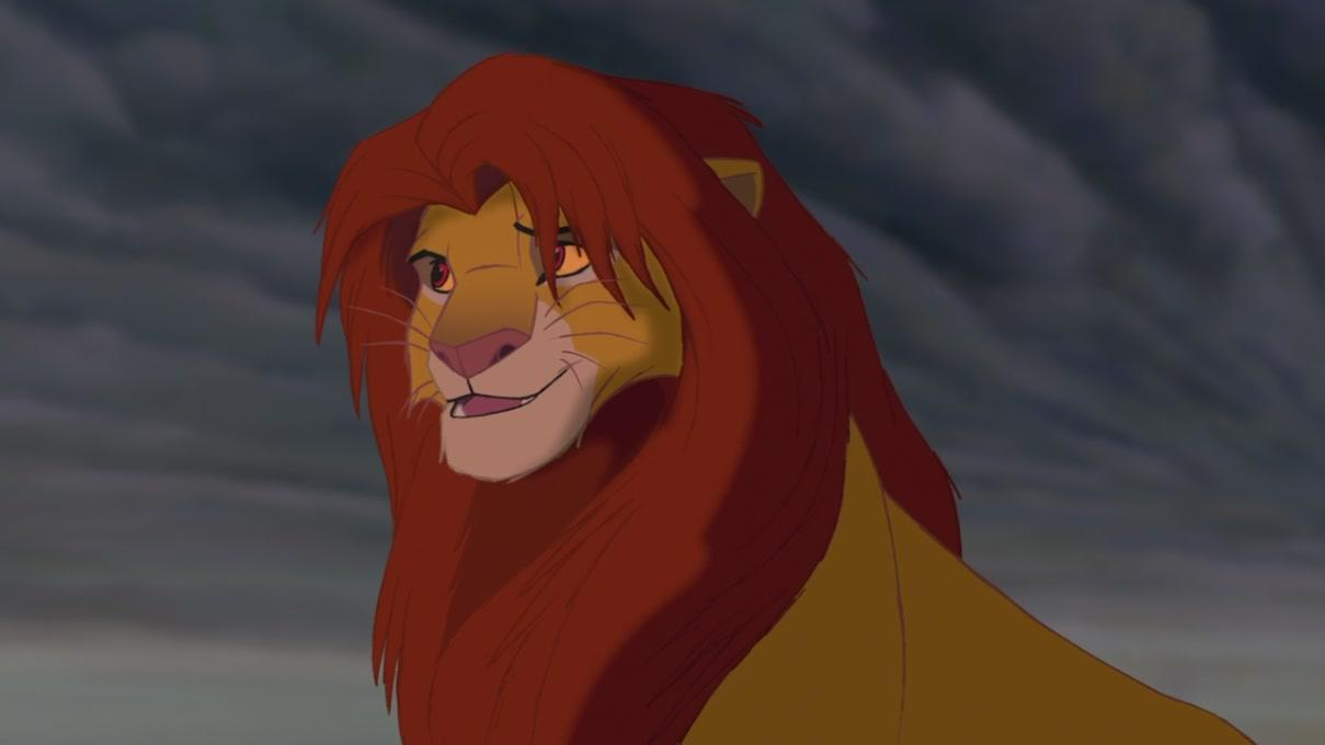 Why did Simba run away from the pridelands?