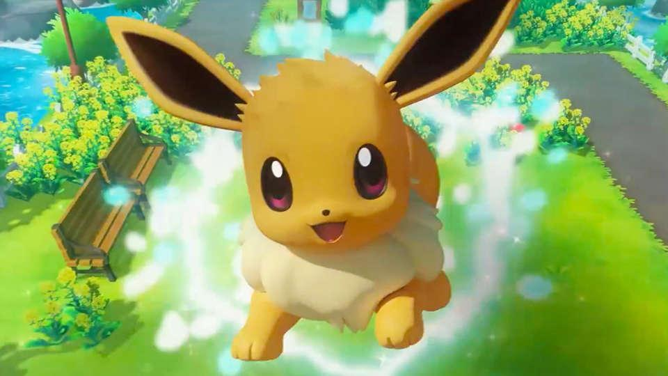 What pokemon here evolves from eevee?