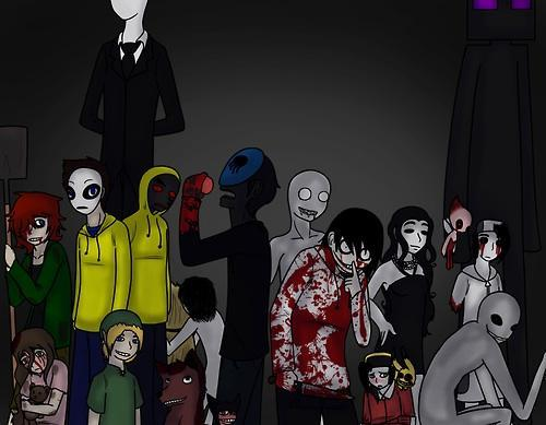 Which are Creepypasta's?