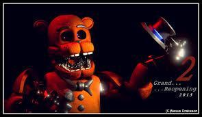 Who of the old animatronics doesn't have a face?