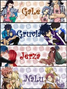 Who is your favourite Fairy Tail couple? Some of these i made!